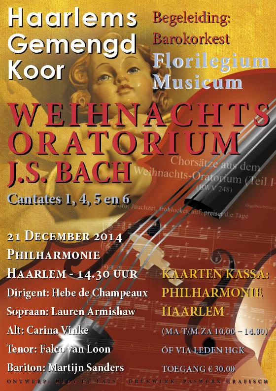 Het Weihnachtsoratorium – J. S. Bach